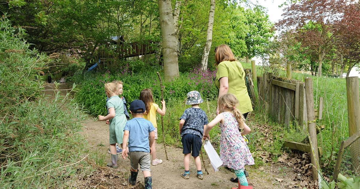 Exploring - Forest School - Childcare - Enchanted Garden Day Nursery Mansfield