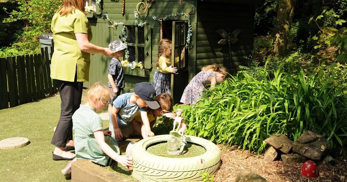 Outdoor Parties - Childcare - Enchanted Garden Day Nursery Mansfield