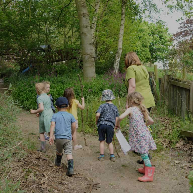 Forest School - Childcare - Enchanted Garden Day Nursery Mansfield