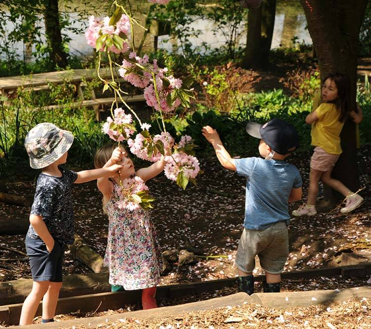 Love of children is what stands out when you visit the Enchanted Garden Day Nursery in Mansfield.