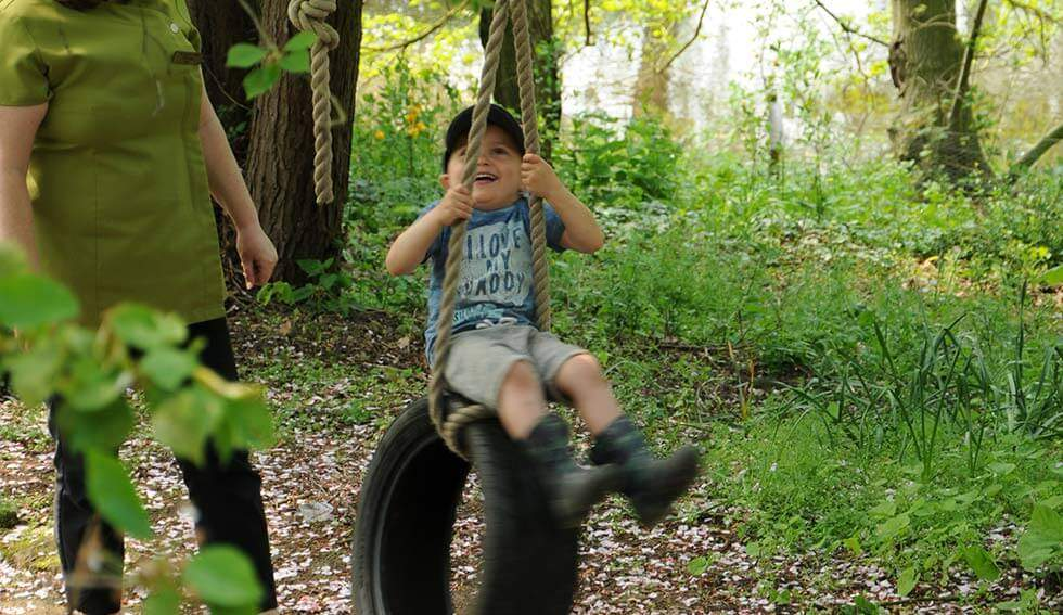 Let them take risk - Reggio Emilia Inspired - Enchanted Garden Day Nursery Mansfield