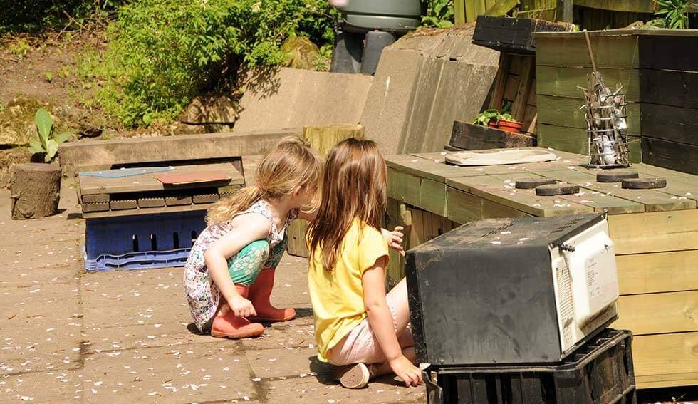 Let them use their imagination - Reggio Emilia Inspired - Enchanted Garden Day Nursery Mansfield