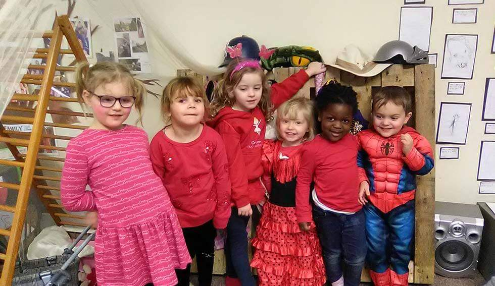 Let them who they want to be - Reggio Emilia Inspired - Enchanted Garden Day Nursery Mansfield