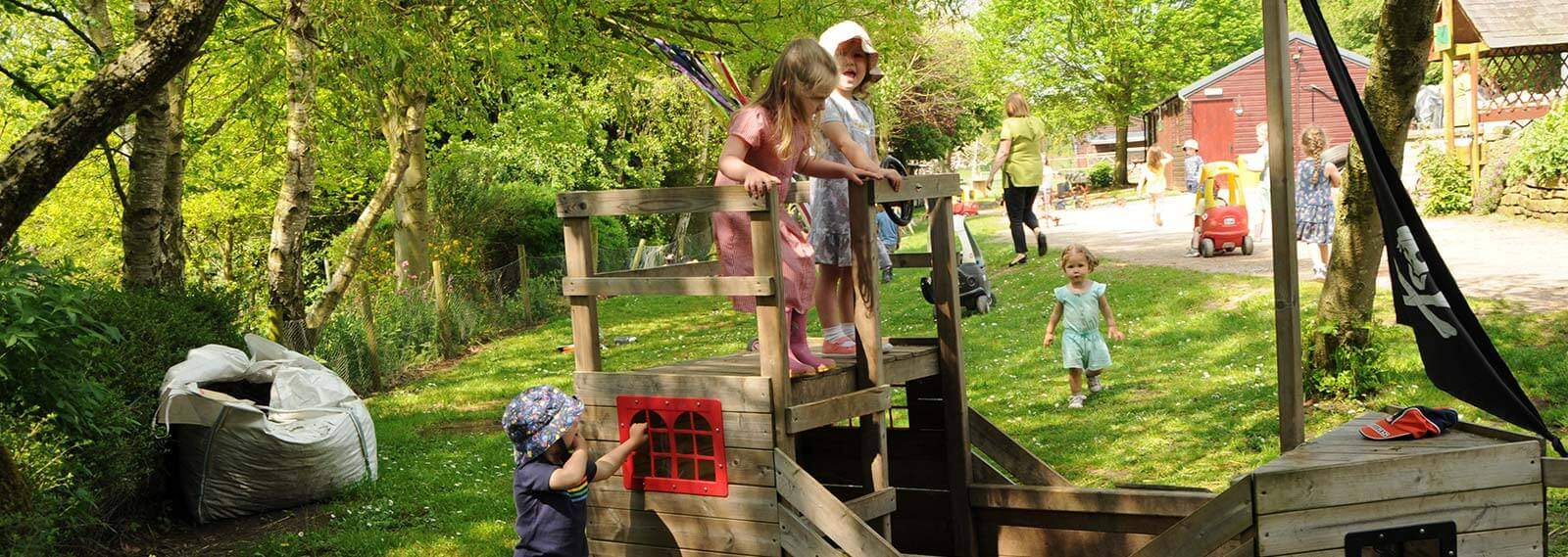 School Holiday Childcare - Enchanted Garden Day Nursery Mansfield